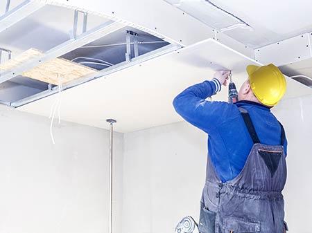 gyproc plafond Haacht