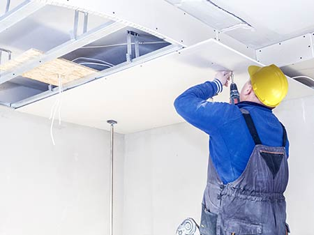 gyproc plafond Damme