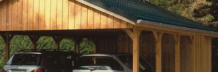 houten carport bouwen