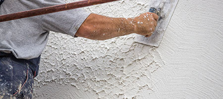 muur pleisteren